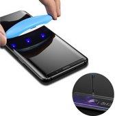 Screenprotector Tempered Glass Curved Glue voor Note 10 Plus Transparant (2 Stuks)