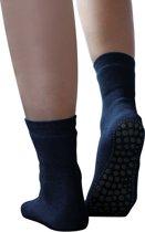 Anti slip huis sokken met badstof 39-42