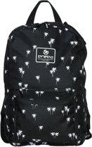 Brabo Backpack Storm Palms Black/White Sticktas Unisex - Black/White