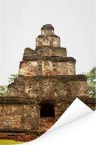 Hindoeïstische tempels in Polonnaruwa Sri Lanka Poster 120x180 cm - Foto print op Poster (wanddecoratie woonkamer / slaapkamer) XXL / Groot formaat!