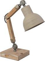 Clayre & Eef Bureaulamp 25x15x31 cm / E27/max. 1x60Watt