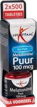 Lucovitaal Melatonine Puur - 1000 Tabletten - Voedingssupplementen