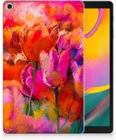 Hoesje Samsung Galaxy Tab A 10.1 (2019) Design Tulips