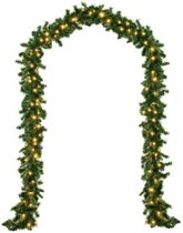 Monzana Decoratieve - Kerstguirlande - 5mtr - 100xLED - in/outdoor