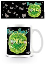 Rick and Morty - Floating Cat Dimension Mug 325ml