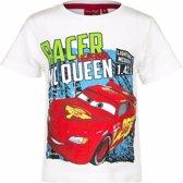 Disney Cars t-shirt wit voor jongens 104 (4 jaar)