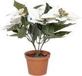 MaxxHome kunstplant Spathiphyllum wit - 3 stuks