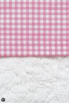 Cottonbaby Boerenbont - Wieglaken 75x90 cm - Roze