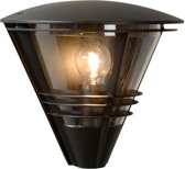 Lucide LIVIA - Wandlamp Buiten - IP44 - Zwart