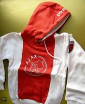 Ajax hooded sweatvest - maat 128