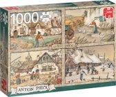 Anton Pieck - Vier Seizoenen - 1000 stukjes