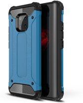 Armor Hybrid Huawei Mate 20 Pro Hoesje - Lichtblauw