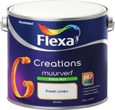 Flexa Creations - Muurverf Extra Mat - Fresh Linen - 2,5 liter
