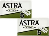 Astra Superior Platinum scheermesjes - Double Edge Blade - 1 doosjes van 5 scheermesjes