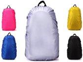 Regenhoes Rugzak - Waterdichte Backpack Hoes - Flightbag 35L   Bescherm uw tas tegen regen! (Zilver)