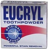 12 X Eucryl orginal poeder original 50 gram verwijdert vlekken