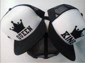 King en Queen cap | snapback trucker | duo set | Topmen