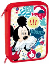 Disney Mickey Mouse Gosh - Gevuld etui - 31 delig - Rood