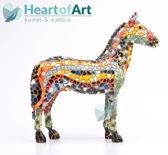 Barcino design mozaiek beeld paard