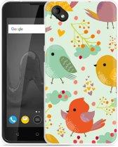 Wiko Sunny 2 Plus Hoesje Cute Birds