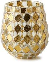 Riviera Maison Magic Mosaic Votive  - Votives - S - Gold