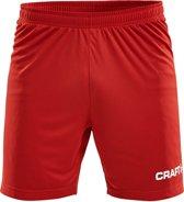 Craft Squad Short Solid Heren Sportbroek - Maat S  - Mannen - rood/wit