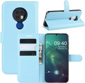 Nokia 6.2 / 7.2 Hoesje - Book Case - Lichtblauw