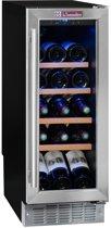La Sommelière CVDE21 - Wijnklimaatkast - Inbouw, Monotemperatuur (21 flessen) 4 legplanken, Energieklasse B
