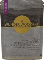 Wunder Workshop / Instantly Golden Kurkuma, Cacao Latte – Bio - 150 gram