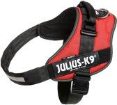 Julius K9 IDC Powertuig/Harnas - Maat 4/96-138cm - XXXL - Rood