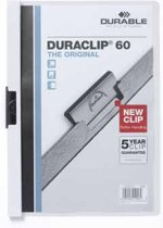 Durable Klemmap Duraclip Original 60 wit
