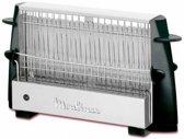 Moulinex Multipan On Off 4slice(s) 760W Zwart, Roestvrijstaal