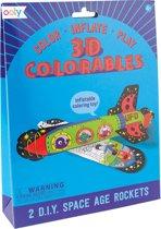 Ooly - 3D Colorable raketten