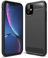 Rugged TPU Apple iPhone 11 Case - Zwart