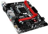 MSI H110M GAMING Intel H110 LGA1151 Micro ATX moederbord