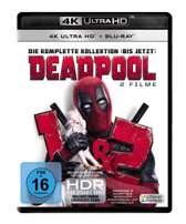 Deadpool 1 & 2 (Ultra HD Blu-ray & Blu-ray)