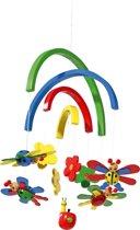 Houten mobiel - Lieveheersbeestje - Mobiel voor baby's - Geen muziekmobiel - Eenvoudig te monteren!