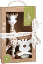 Sophie de Giraf So' PURE Rubberen bijtspeentje in geschenkdoosje