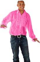 Disco Shirt - Roze - Maat XL/XXL