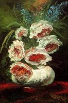 Vase with Peonies by Vincent van Gogh Journal