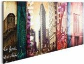 Reinders Schilderij New York, New York - Deco Panel - 90 x 30 cm - no. 21497