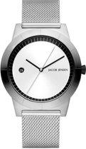 Jacob Jensen 142 horloge heren - zilver - edelstaal