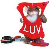 Charming Tails: Cut Out For Luv'in You, Hoogte 7cm
