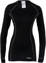 Craft Crewneck Thermoshirt - Sportshirt - Dames - XL - Zwart