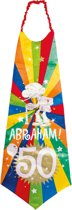 50 Jaar Abraham Knalfeest Stropdas XXL