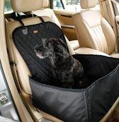 Stoelbeschermer - Autostoel beschermhoes voor honden - Stoelhoes - Honden autostoel 45 x 45 cm Zwart