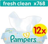 Pampers Fresh Clean Billendoekjes - 768 Stuks