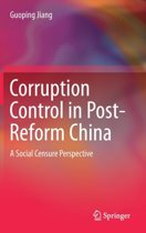 Corruption Control in Post-Reform China