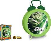 Star Wars - yoda - klok - groot staand model