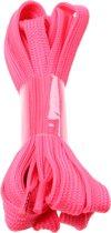 Rucanor Schoenveters Plat Fluorescerend Roze 130 Cm